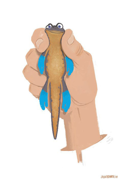 Newt - Hand