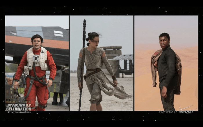 The Force Awakens Big Three