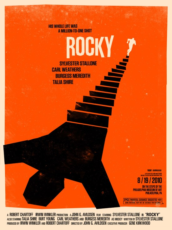 rocky - Olly Moss