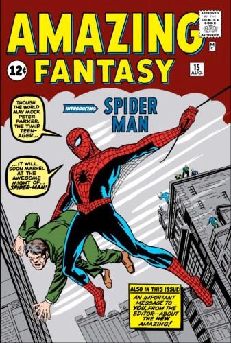 Spider-Man Amazing Fantasy Cover