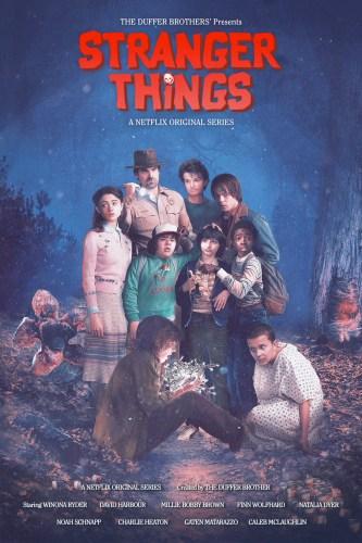 Stranger ThingsStranger Things Posters - The Goonies Poster - The Goonies Poster