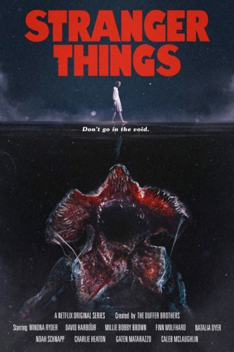Stranger Things - Jaws Poster