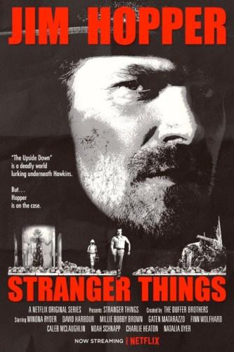 Stranger Things - Running Man Poster