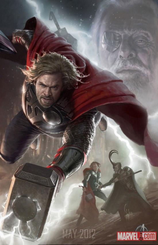 the-avengers-thor-art
