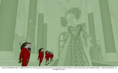 Alice in Wonderland: The Red Queen 2nd Progression 4 of 5