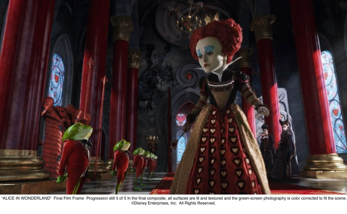 Alice in Wonderland: The Red Queen 2nd Progression 5 of 5