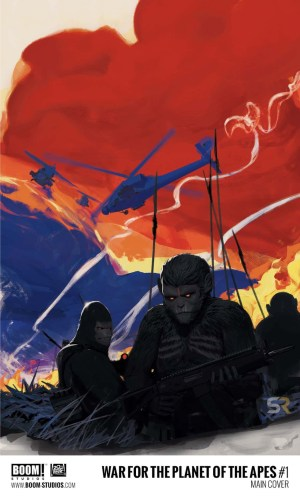 war for the planet of the apes comic book miniseries