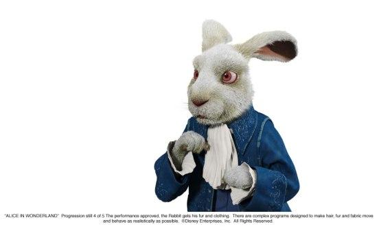 Alice in Wonderland: White Rabbit Progression 4 of 5