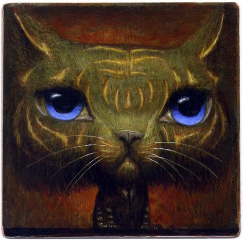 Under The Influence Art Show: Masters of the Universe - Battle Cat by Bill Carman