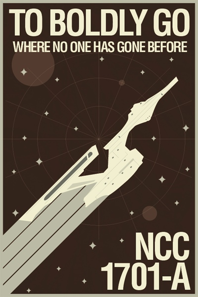 Brandon Schaefer's Star Trek Movie Poster