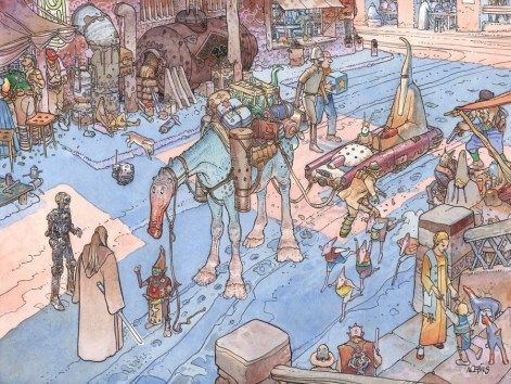 Star Wars: Visions -- Untitled by Moebius
