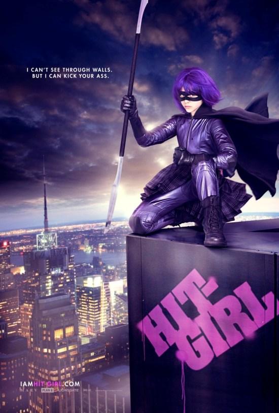 Kick-Ass Poster Hit Girl