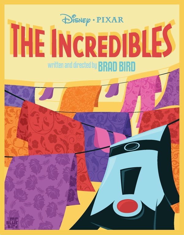 Mario Graciotti's The Incredibles Poster