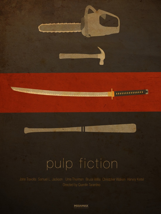 Ibraheem Youssef's Pulp Fiction Poster