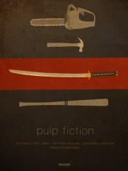 Ibraheem Youssef's Pulp Fiction Poster