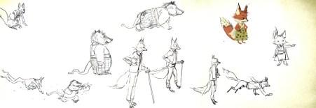 Chris Appelhans' Fantastic Mr. Fox Concept Art