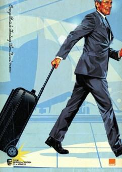 Tavis Coburn's Up in the Air BAFTA Poster