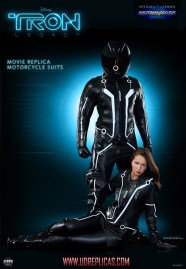 Tron Legacy Official Replica Light Bike Motorcycle Suits