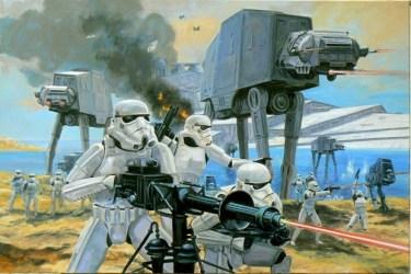 Star Wars: Visions - Clash on Kothlis by David Pentland
