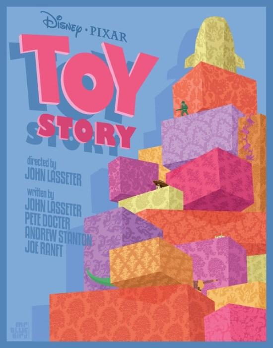 Mario Graciotti's Toy Story Poster