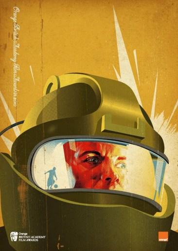 Tavis Coburn's The Hurt Locker BAFTA Poster