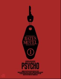 Mario Graciotti's Poster for Hitchcock's Psycho