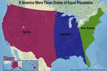 if every u.s. state had the same population, what would