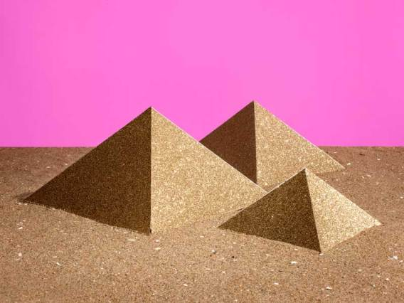 "Lonneke van der Palen, Pyramids, 2011. From the series ""Souvenir"". Courtesy of Kahmann Gallery. Copyright Lonneke van der Palen"