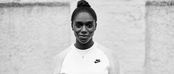 Dina Asher Smith nike