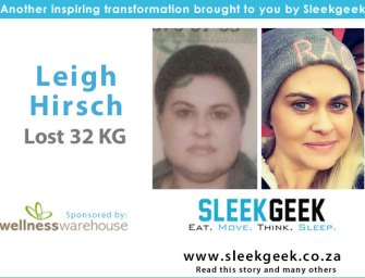 Leigh Hirsch battles her demons and loses 32kgs