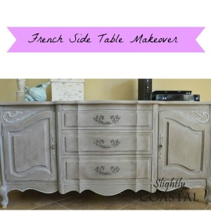 Title French Side Table