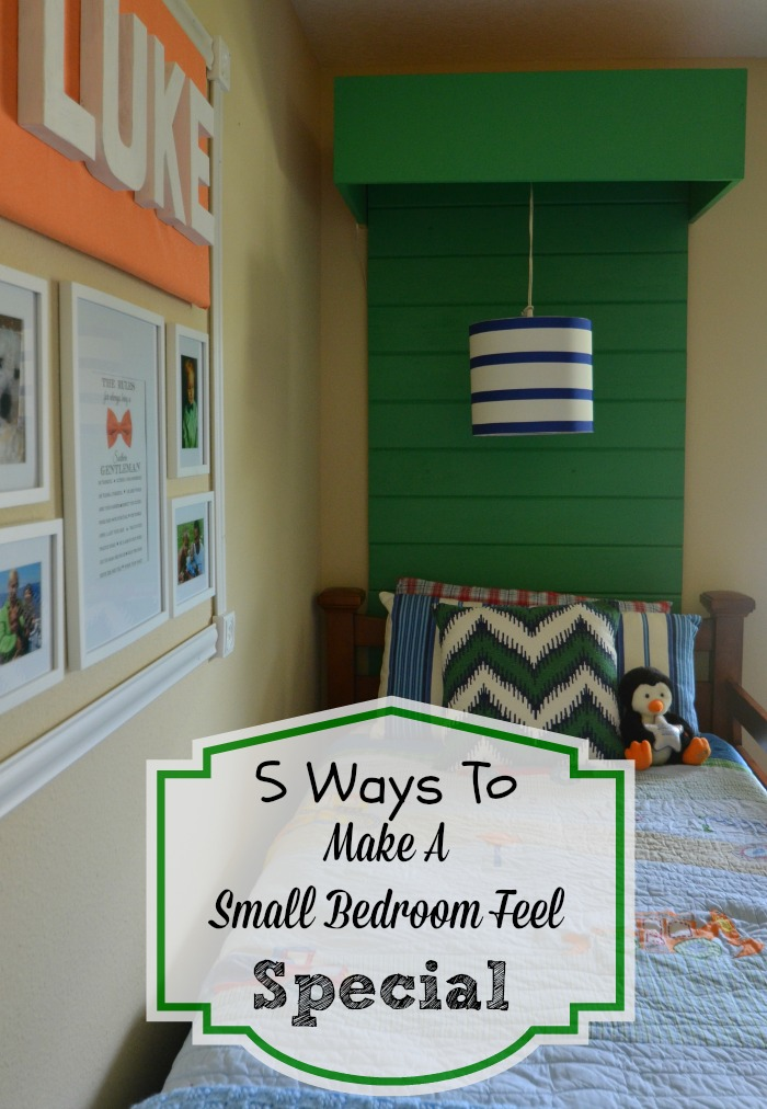 Slightly Coastal: How To Make A Small Bedroom Feel Special