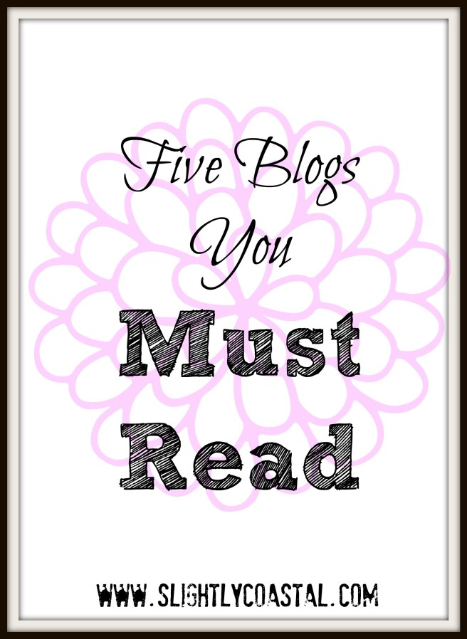 five bloggers that steal my time and why i m happy about