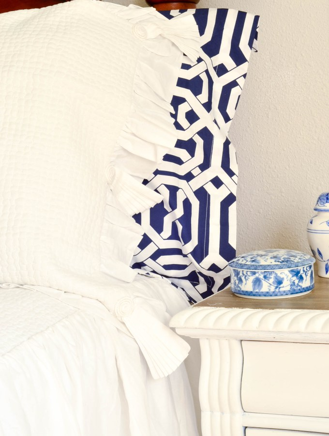 French Country Coastal Master Bedroom Makeover