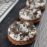 Low Syn Oreo Chocolate Doughnuts