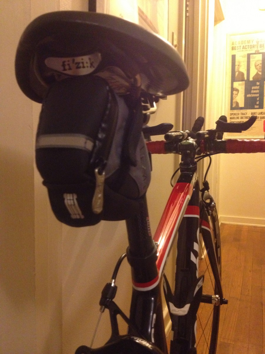 Making Saddlebags Cool - How (Not) to Install a Wedge Pack on Your Bike