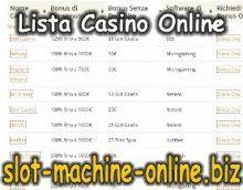 Lista di tutti i casino online mill bay casino washington