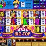big top slot pagamenti