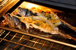 Gray Finished Baked Stuff Trout Stuffed Trout Recipe Slovak Cooking Grilled Trout Recipes Fillet Charcoal Grilled Trout Recipes