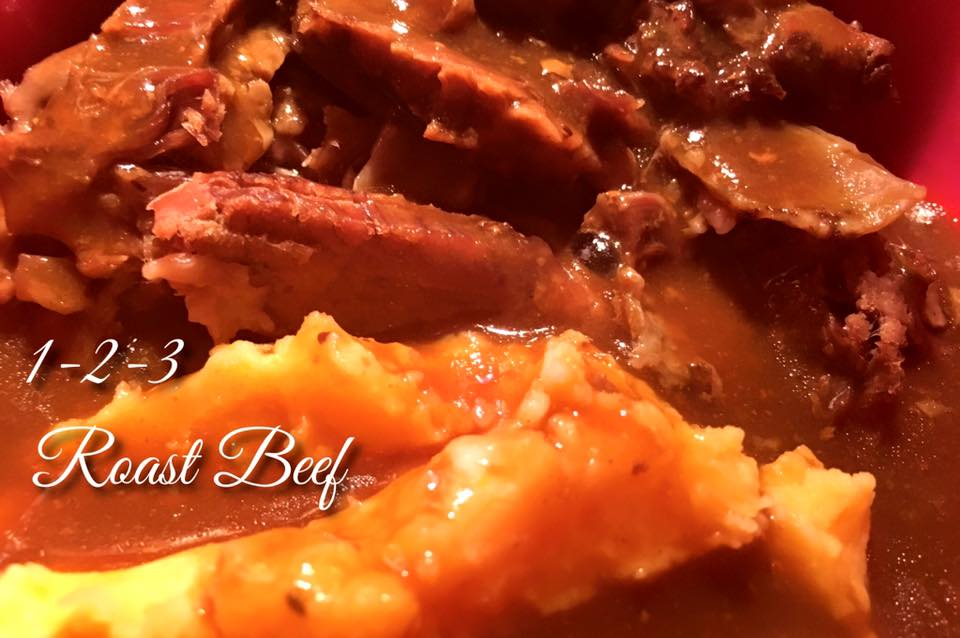 how to cook slow roast beef joint