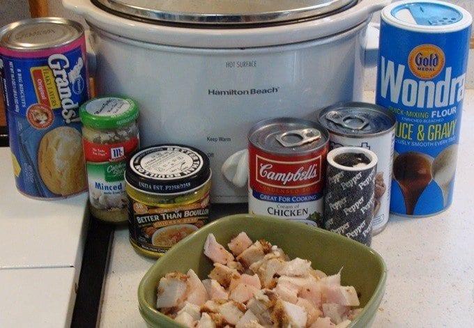 chicken and dumplings ingredients