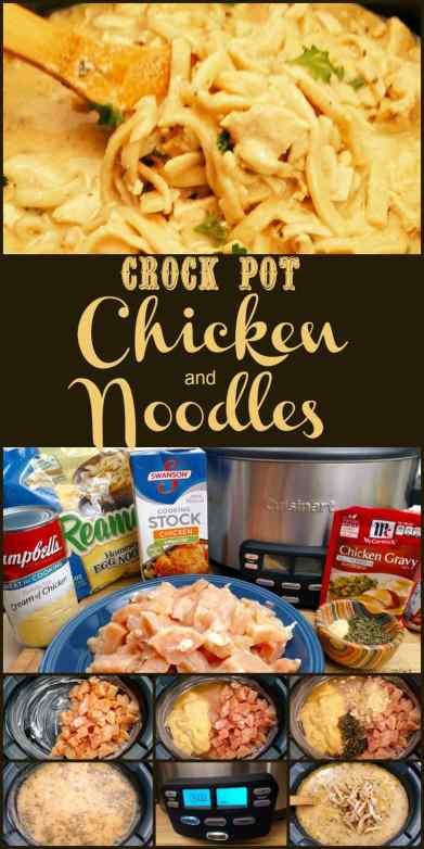Crock Pot Chicken and Noodles