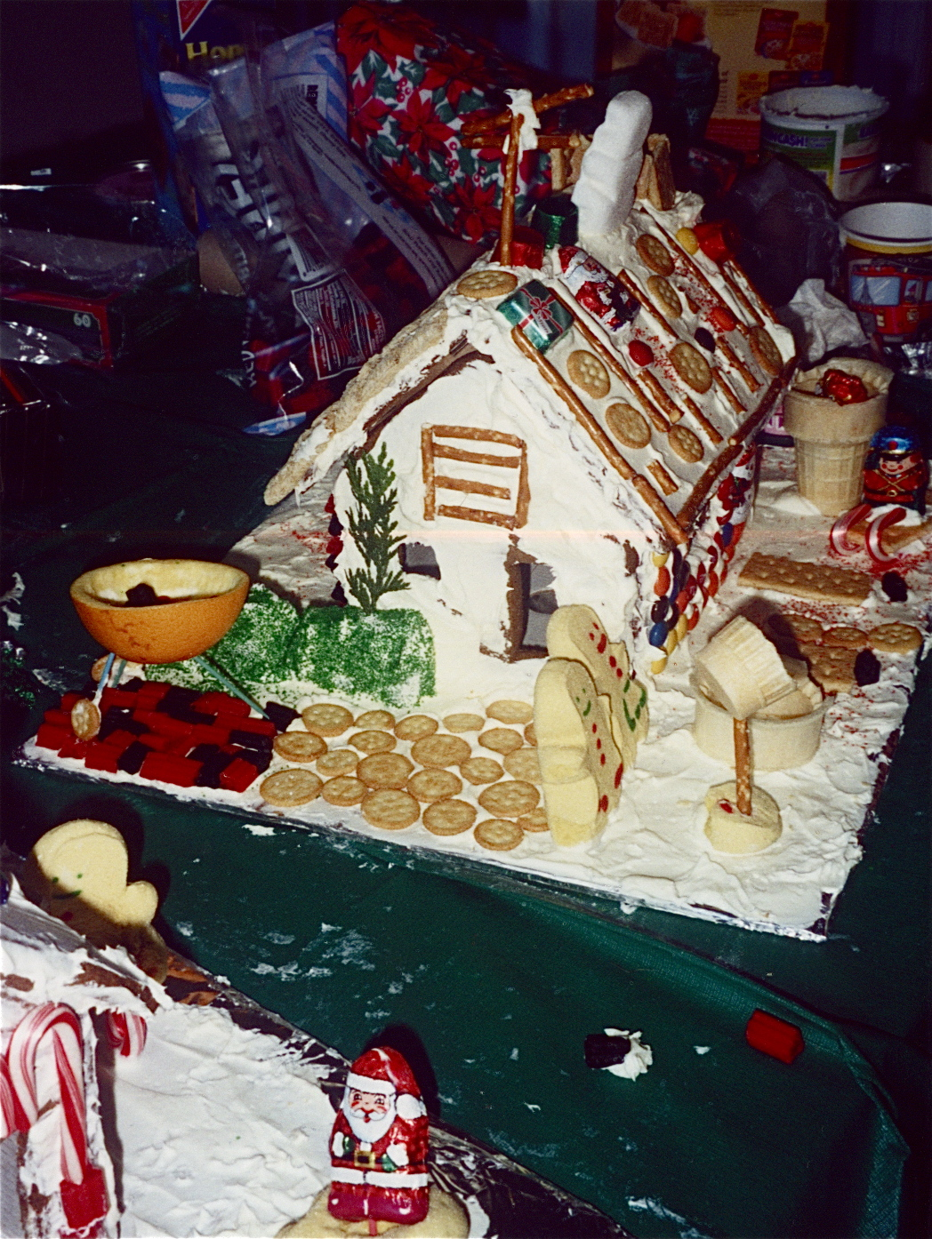 Build your dream gingerbread house part one slow family for Build dream home online for fun