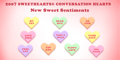 Best And Worst Candy Heart Sayings Of All Time Slow Family
