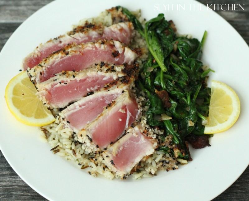 Large Of Baked Tuna Steak Recipe
