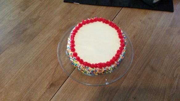 Cake - Top View