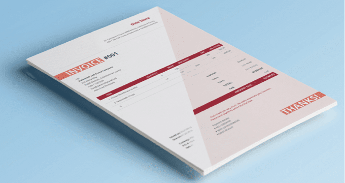 3 Free Invoice Templates for Small Business Owners Financials