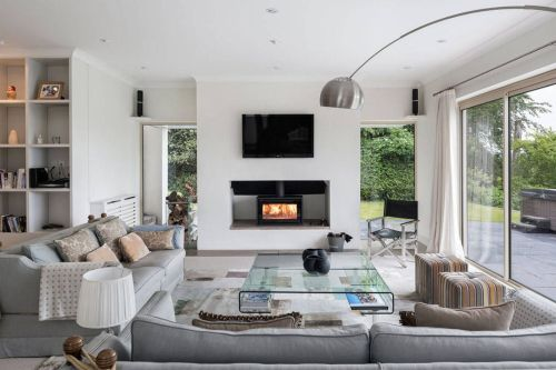 Medium Of Living Room Layout