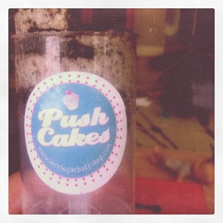 push cake