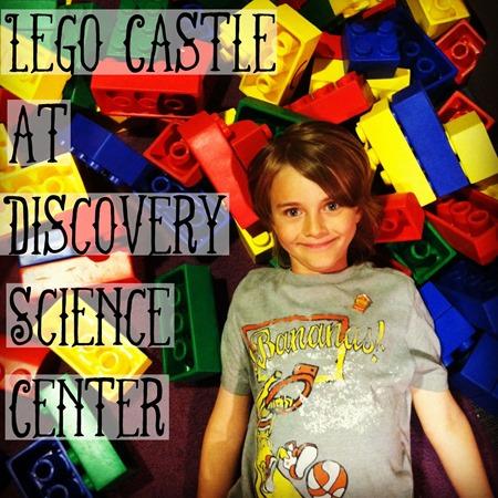 lego castle at DSC